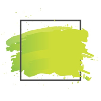 Vecteur de peinture au pinceau d'art. illustration d'affiche de course acrylique de conception de fond de texture abstraite. conception parfaite d'aquarelle pour le titre, le logo et la bannière.