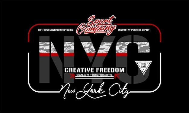 Vecteur premium de la ville de new york