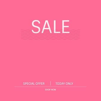 Vecteur de promotion promotion offre spéciale vente
