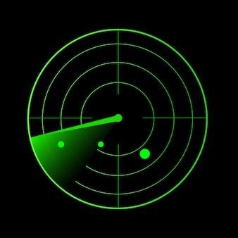 Vecteur radar