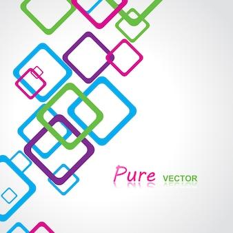 Vecteur résumé fond design illustration