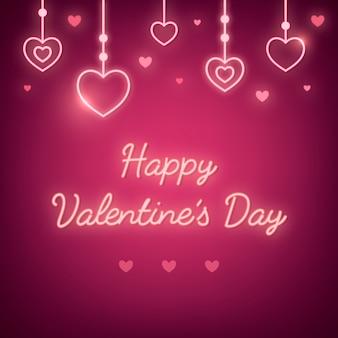 Vecteur de la saint-valentin le 14 février