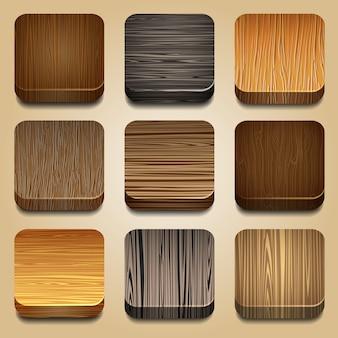 Vecteur série d'icône d'applications