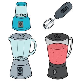 Vecteur série de mélangeurs