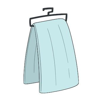 Vecteur de serviette