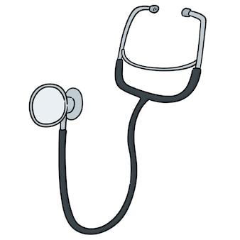 Vecteur de stéthoscope