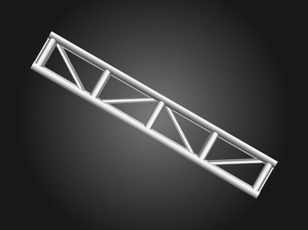 Vecteur de la structure de support métallique lourde