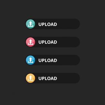 Vecteur téléchargement bouton