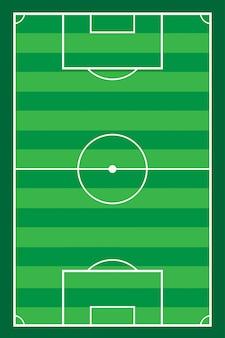 Vecteur de terrain de football soccer stadiun