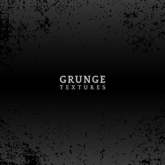 Vecteur de texture en détresse grunge noir