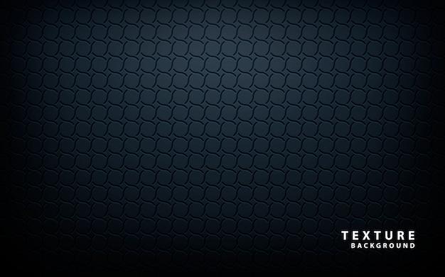 Vecteur de texture métallique noir