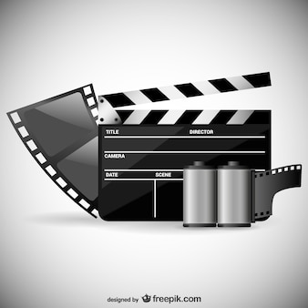 Vecteur de thème de film