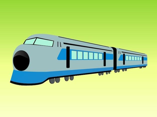 Vecteur de train à grande vitesse
