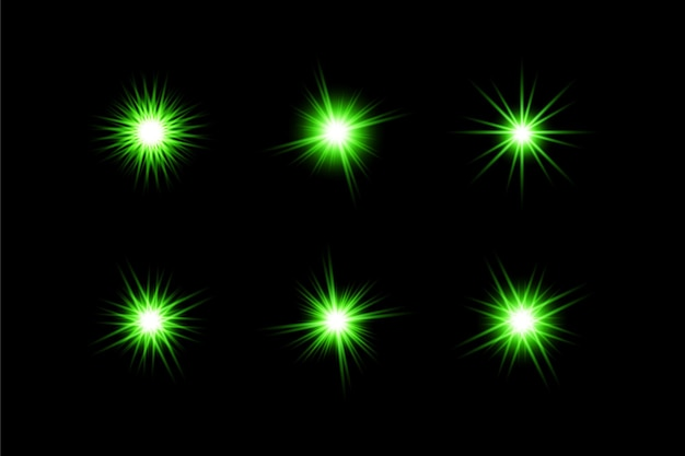 Vecteur transparent lens flare personnalisé
