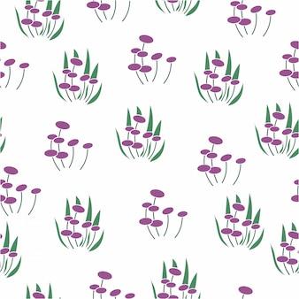 Vecteur transparente motif de fond floral surface