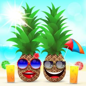 Vecteur de vacances d'été