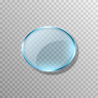 Vecteur Verre Bleu Effet De Transparence Fenêtre Miroir Reflet éblouissement Png Verre Png Fenêtre Vecteur Premium