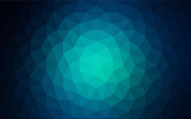 Vecteur vert clair brillant couverture triangulaire.