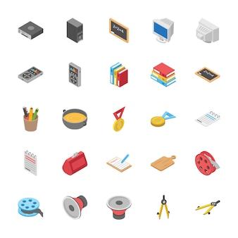 Vecteurs de collection d'objets