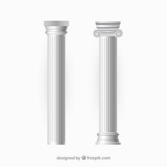 Vecteurs de colonnes
