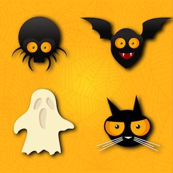Vecteurs d'halloween