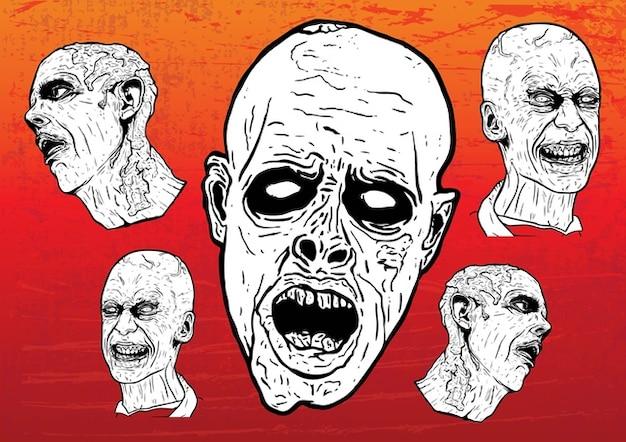 Vecteurs zombie