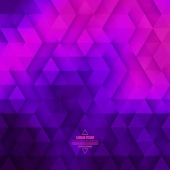 Vector abstrait géométrique de la technologie. fond rose violet de vecteur.
