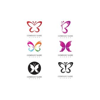 Vector butterfly conceptuel simple, icône colorée. logo. illustration vectorielle