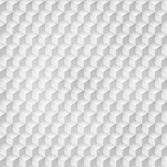 Vector forme géométrique abstraite des cubes gris.
