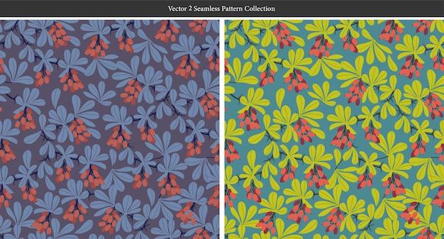 Vector illustration de fleurs dessinées à la main ressource graphique texture naturelle croquis dessin en couleur