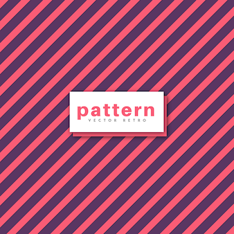 Vector pattern design retro