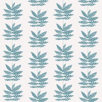 Vector retro leaf illustration stripe transparente motif de répétition oeuvre numérique décor à la maison imprimer