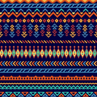 Vector seamless style tribal