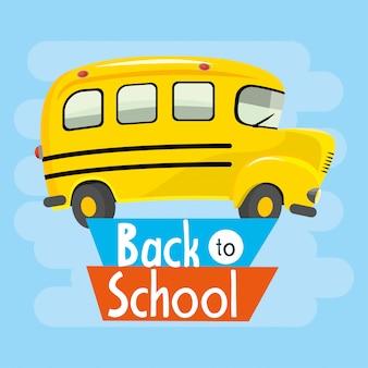 Véhicule éducatif de transport scolaire