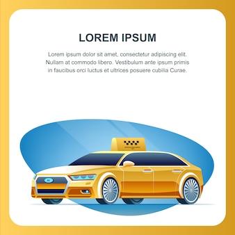 Véhicule de taxi autonome