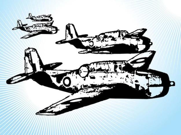 Véhicules de combat d'avions militaires