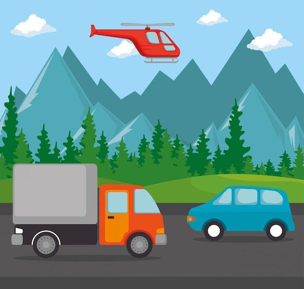 Véhicules logistiques de transport