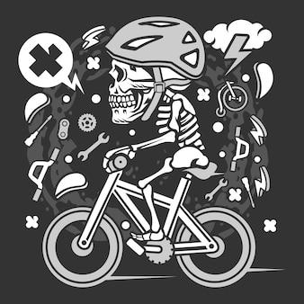 Vélo de crâne