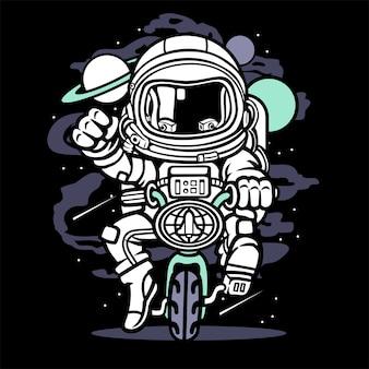 Vélo spatial