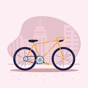Vélo de ville urbain