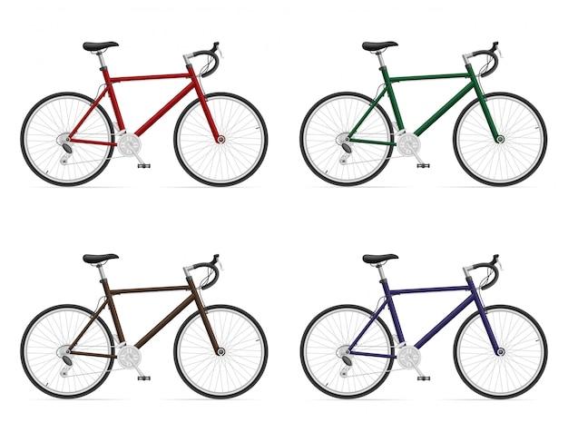Vélos de route avec changement de vitesse