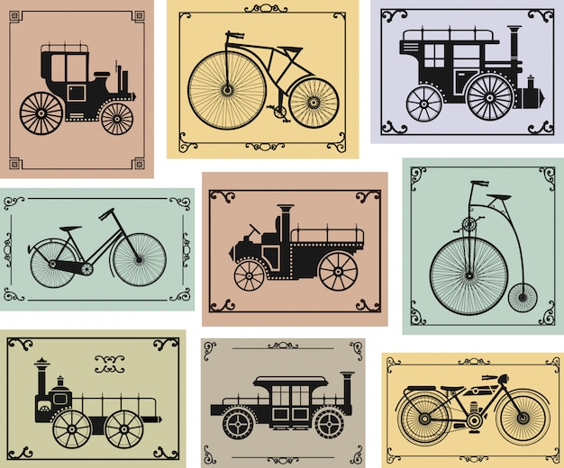 Vélos et voitures