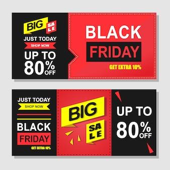 Vendredi noir bon de réduction rabais vente promotion