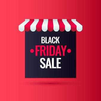 Vendredi noir. grosses ventes. affiche tendance et moderne pour faire la publicité de vos produits. illustration.