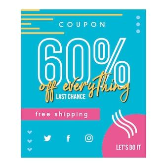Vente 60%