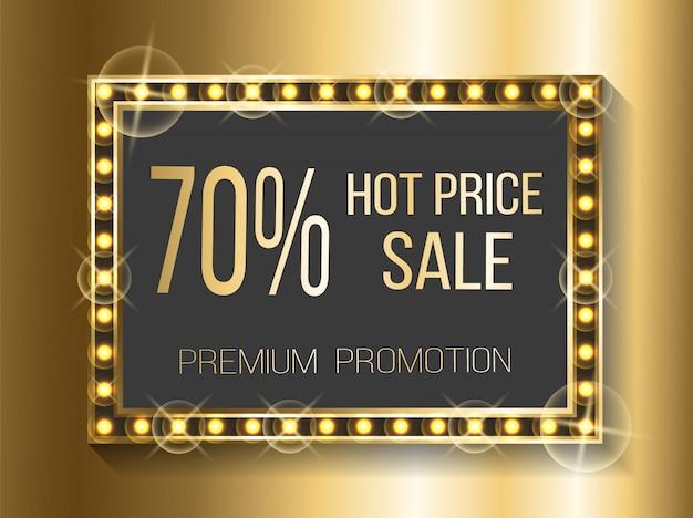 Vente chaude 70% de réduction sur les prix