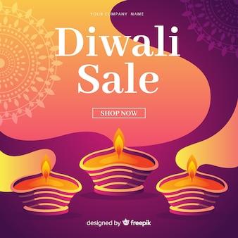Vente de diwali design plat