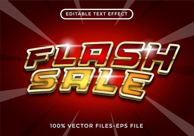 Vente d'effet de texte modifiable vecteur premium