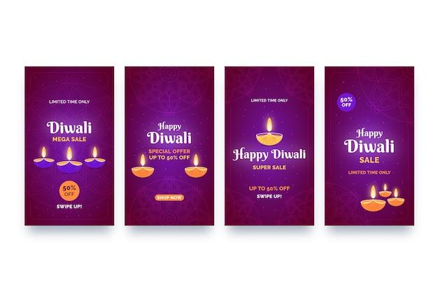 Vente histoires instagram diwali