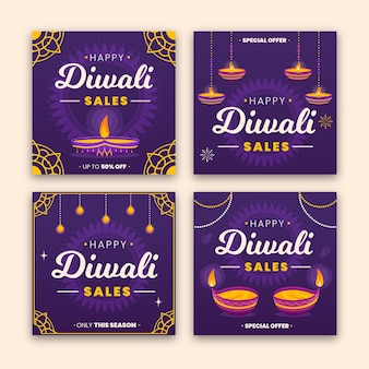 Vente instagram posts diwali celebration
